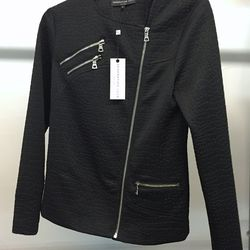 Generation Love stock black jacket, $125