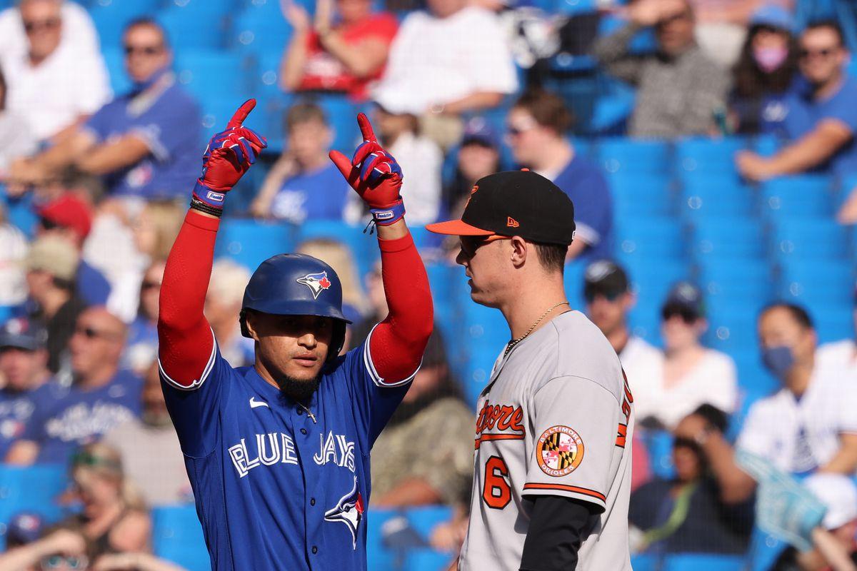 MLB: OCT 02 Orioles at Blue Jays