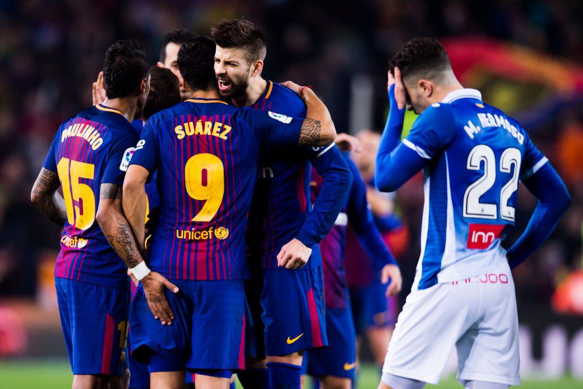 Barcelona v Espanyol - Spanish Copa del Rey
