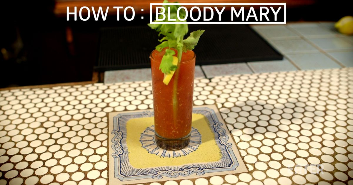 The Only Bloody Mary Recipe You'll Ever Need
