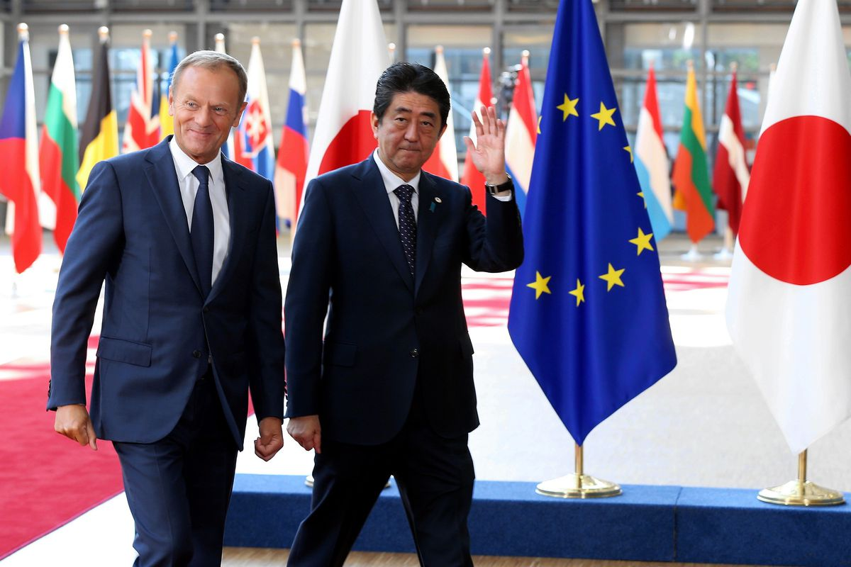 Japan And Europes Huge New Trade Agreement Shows That Us Leadership