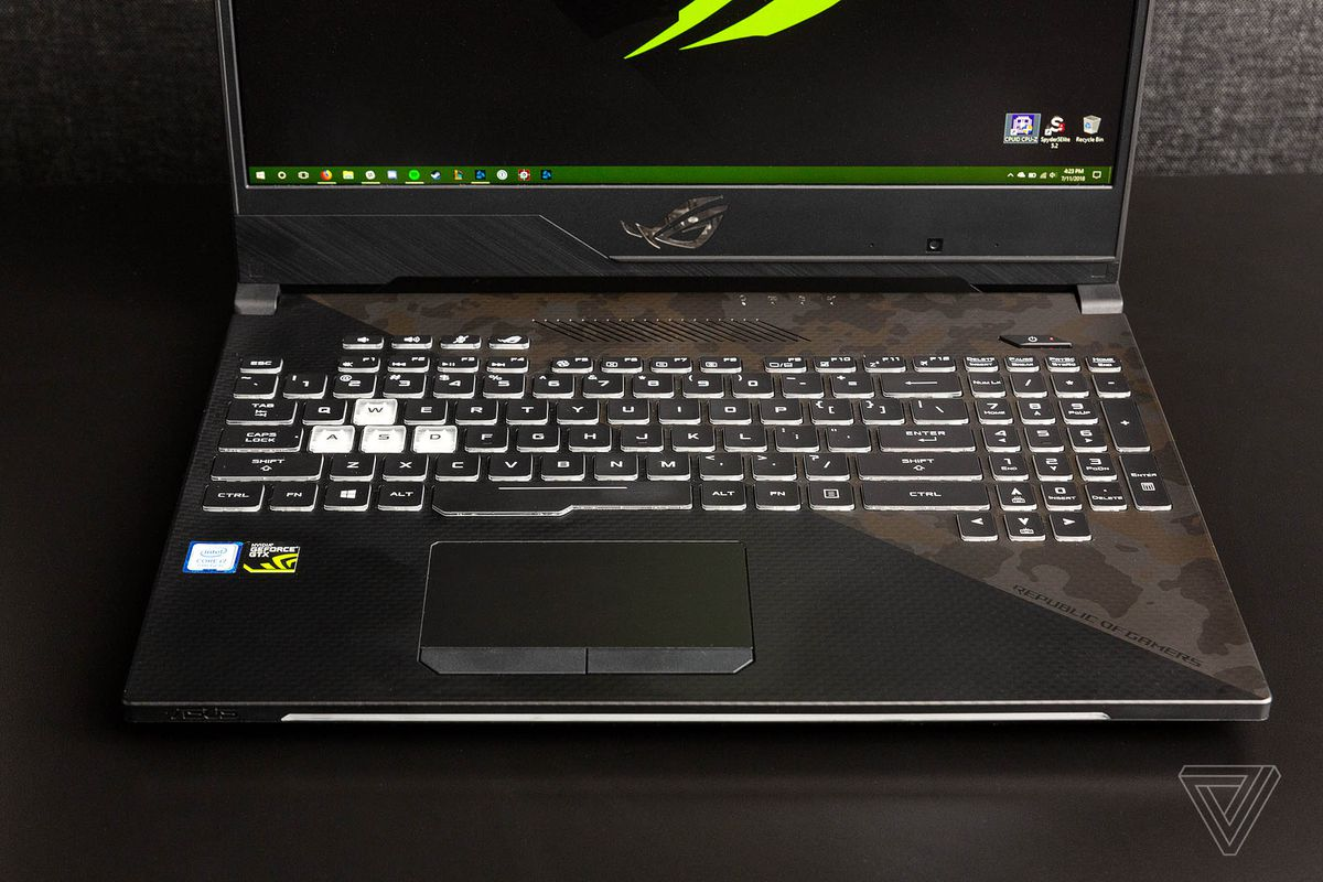 Asus Strix Scar II laptop review: lights, camo, action - The
