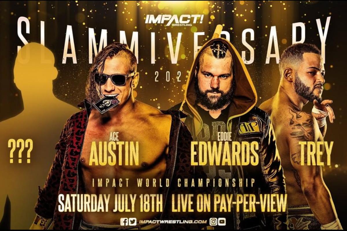 Ace Austin vs Eddie Edwards vs Trey vs Mystery Opponent