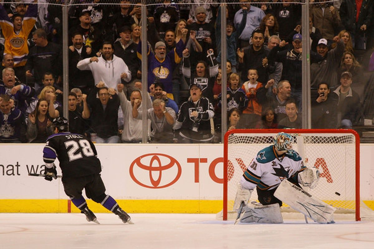 Jarret Stoll scored a beauty goal in the shoot-out.