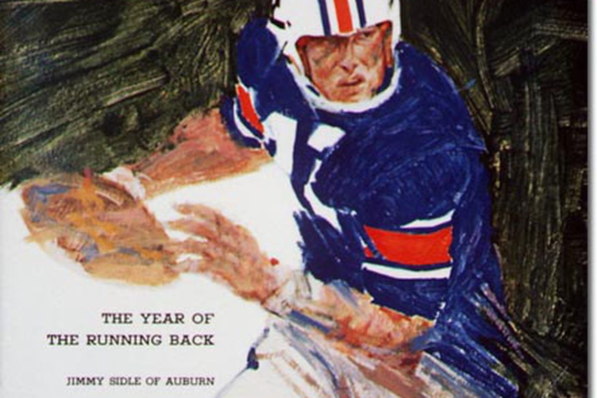 Auburn's Jimmy Sidle made the cover of Sports Illustrated September 21, 1964.