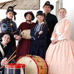 The Frandsens performed Saturday at Fort Douglas Military Museum.