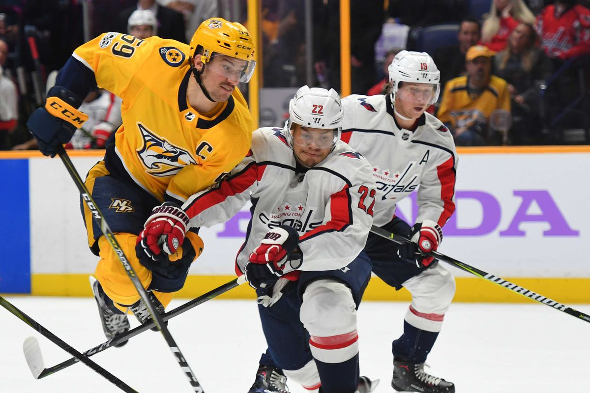 Capitals Predators Game Thread Japers Rink
