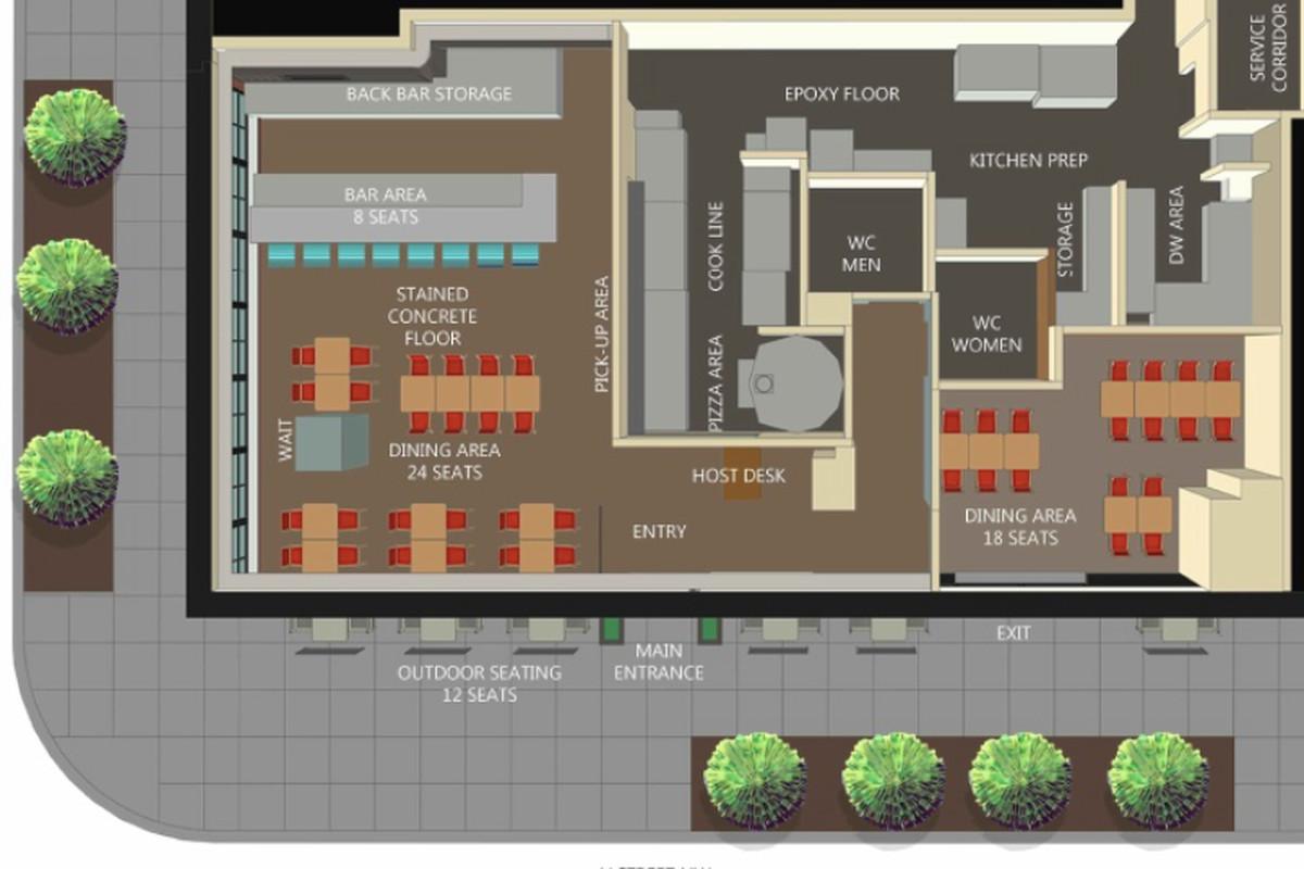 Declaration's floor plan