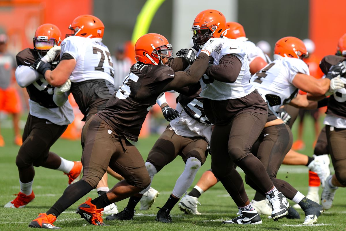 Cleveland Browns Training Camp Recap: Day 14 - Trying to