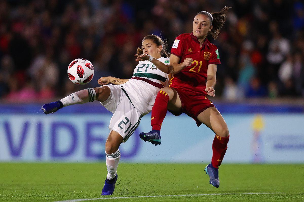 Spain v Mexico - FIFA U-17 Women's World Cup Uruguay 2018 Final