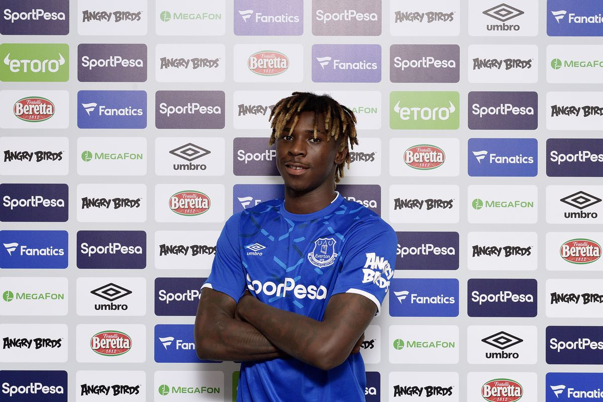 Everton Unveil New Signing Moise Kean
