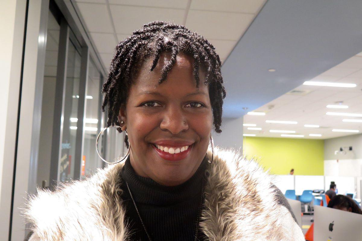 Teresa James-Robinson leads the Simon Youth Academy at Circle Centre.