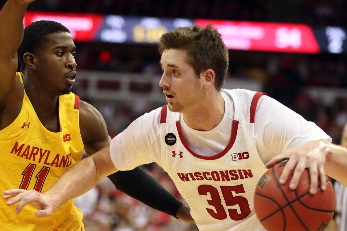 NCAA Basketball: Maryland at Wisconsin