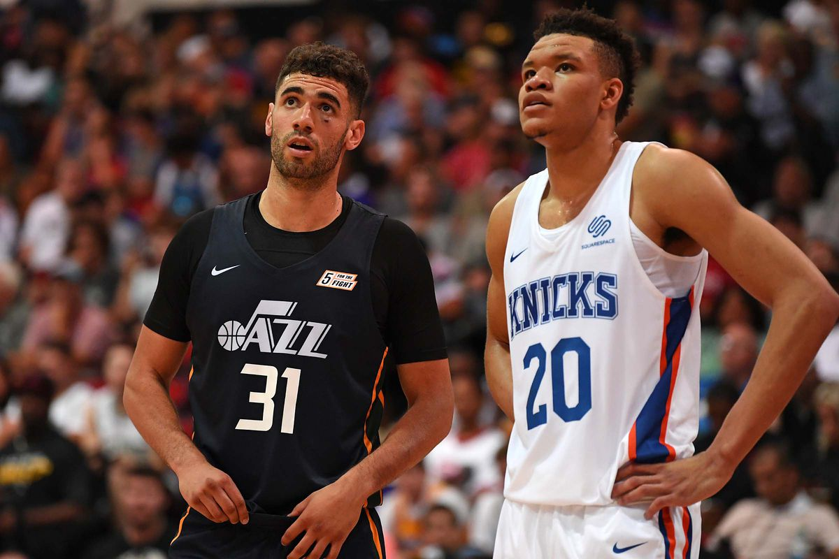 ef79b6db63d Stephen R. Sylvanie-USA TODAY Sports. Scouting Kevin Knox was a genuinely  ...