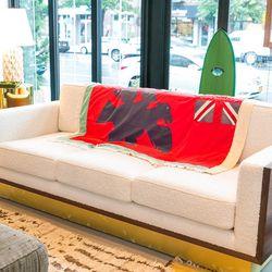 Uhru sofa, $16,000