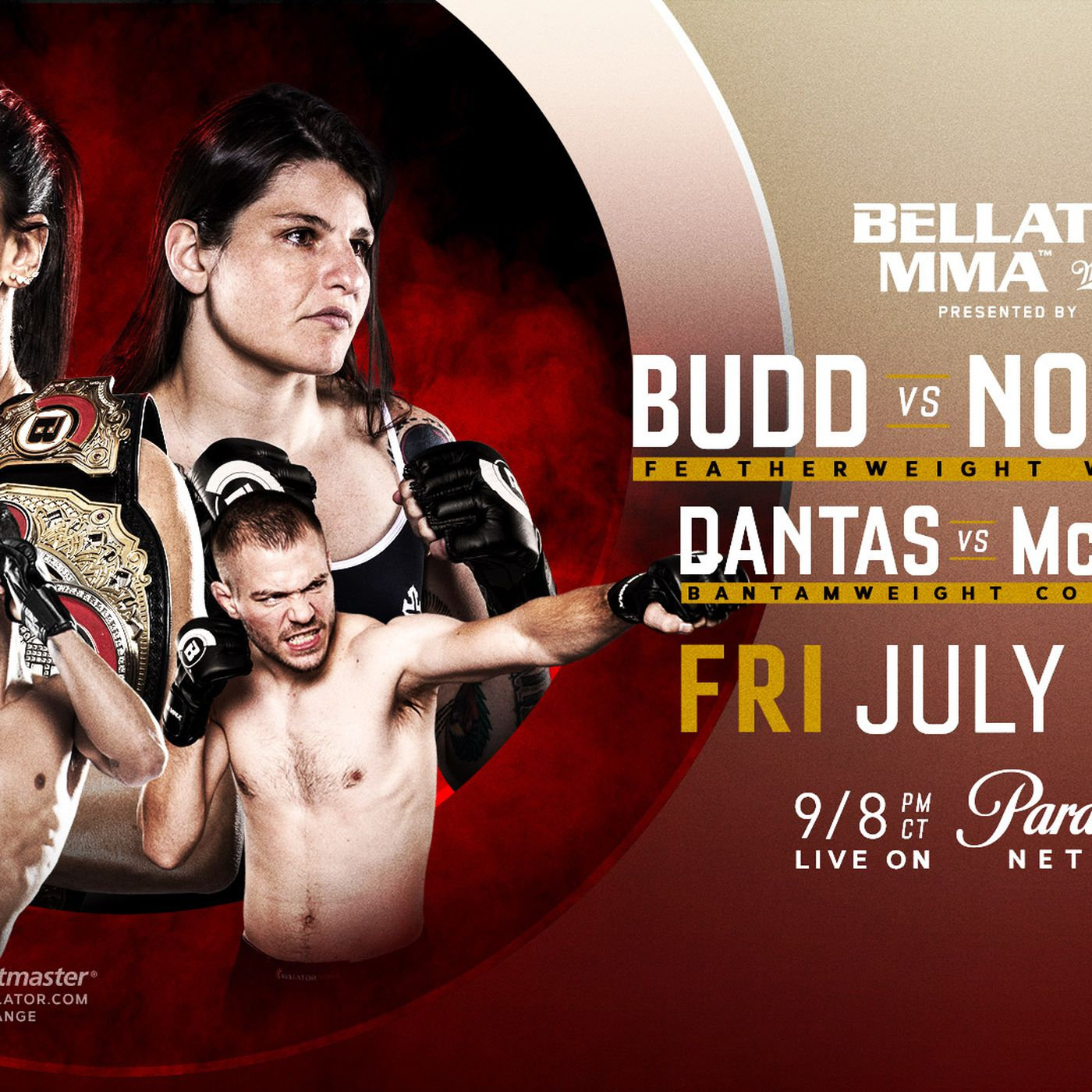 Bellator 202 'Budd vs Nogueira' recap with results,  gifs and