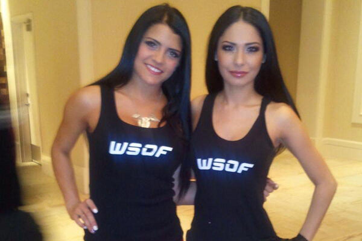 World Series of Fighting (WSOF) gals.