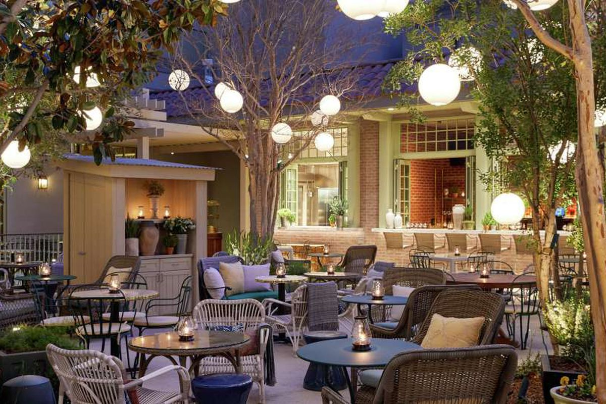 Primrose Reveals Its Poolside Patio Eater Vegas