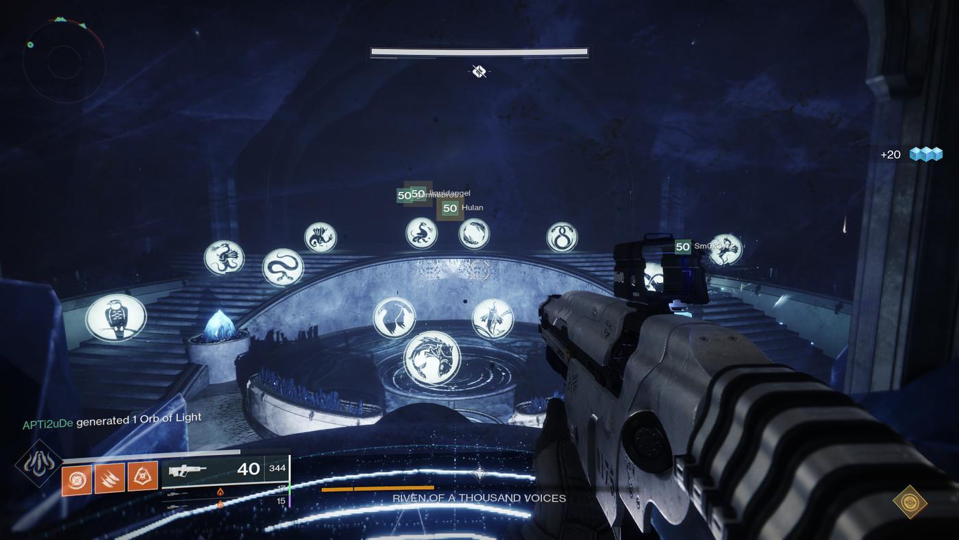 Destiny 2 Raid Karte.Destiny 2 Forsaken Last Wish Raid Riven Of A Thousand Voices Boss