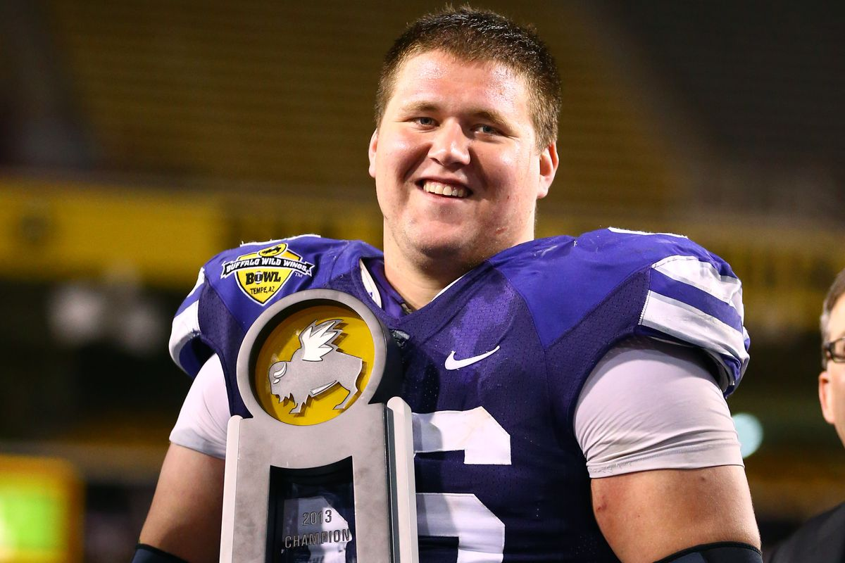 Looking for a replacement for departed senior B.J. Finney, one of K-State's all-time best centers and now a Pittsburgh Steeler? Look no further than redshirt freshman Dalton Risner.