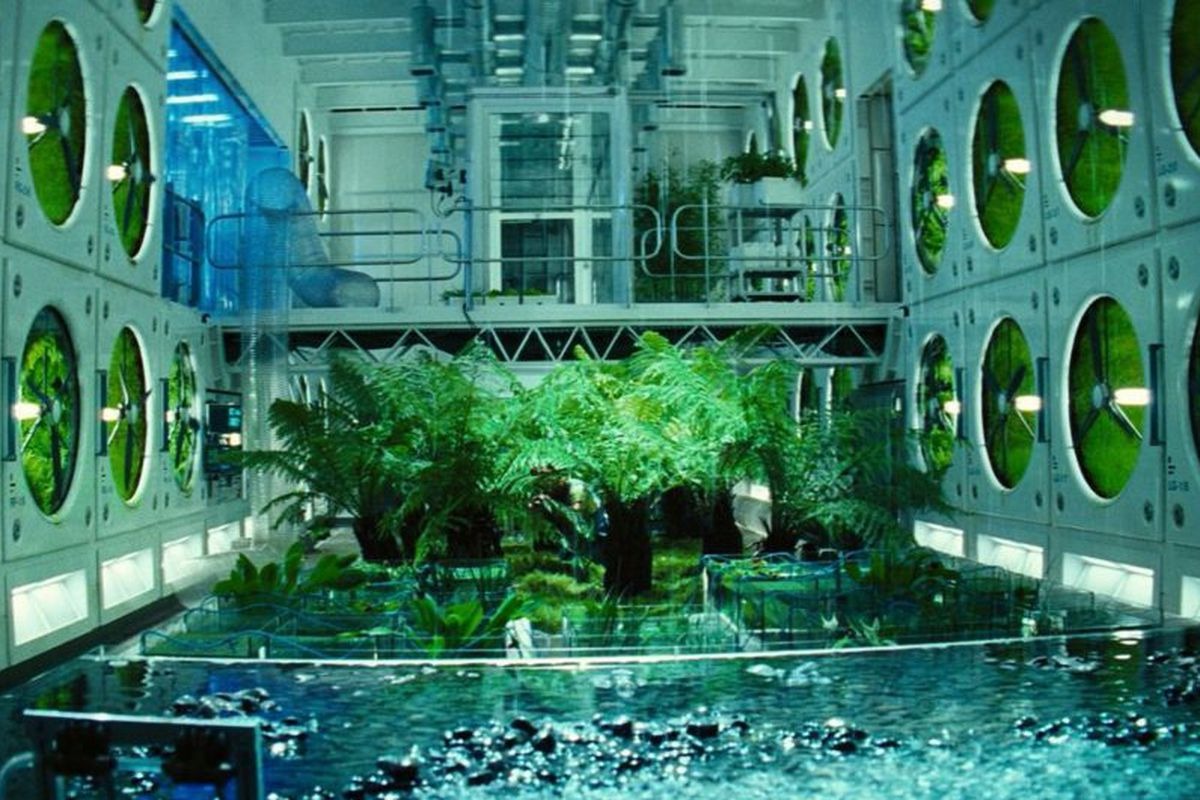 greenhouse space station - photo #12