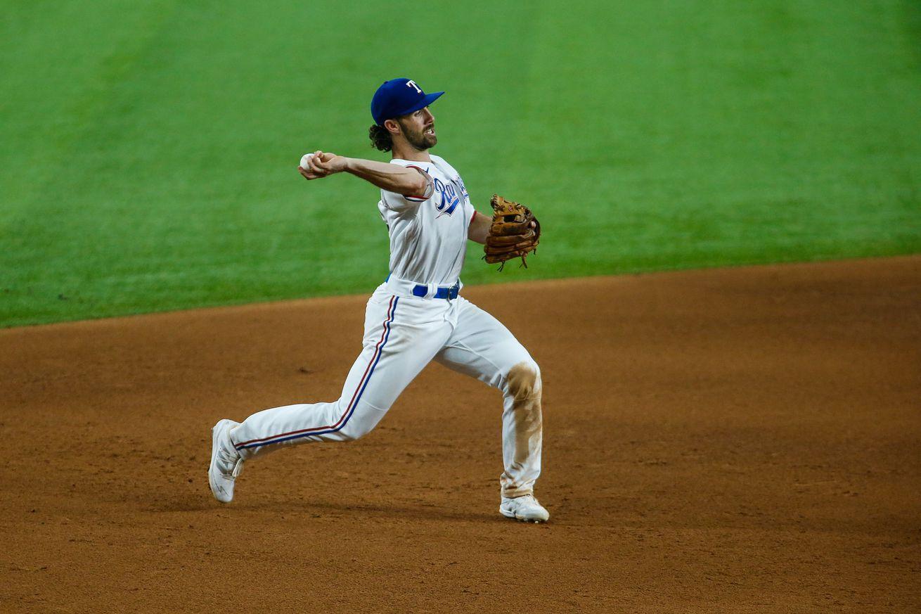 MLB: MAY 01 Red Sox at Rangers