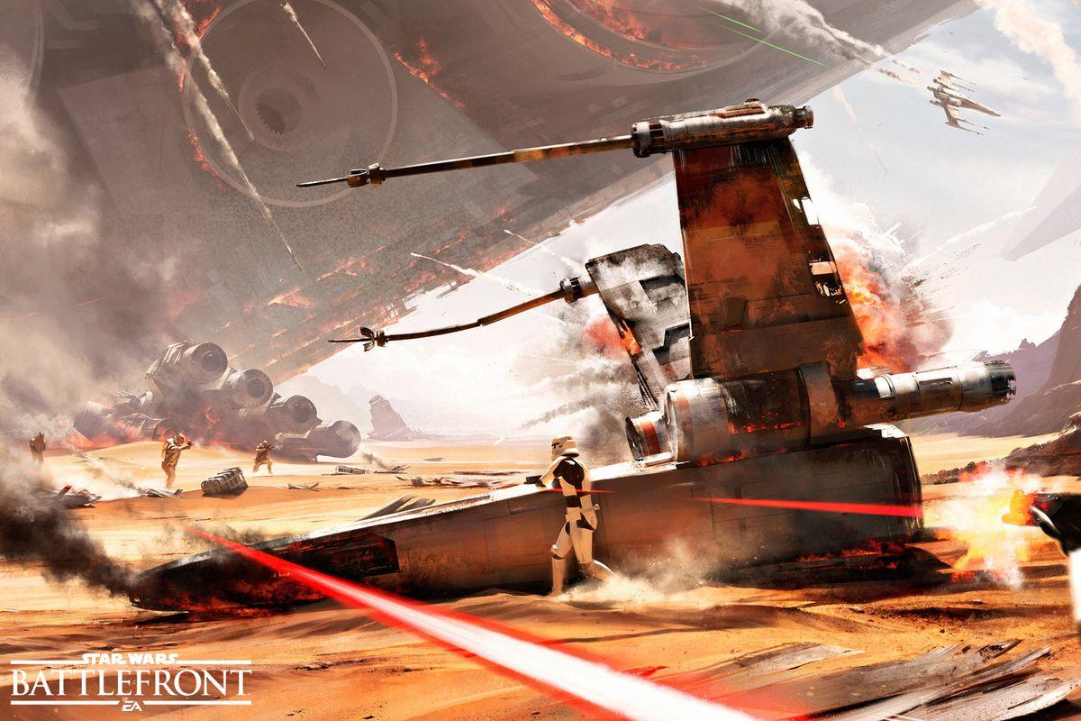battlefront jakku concept