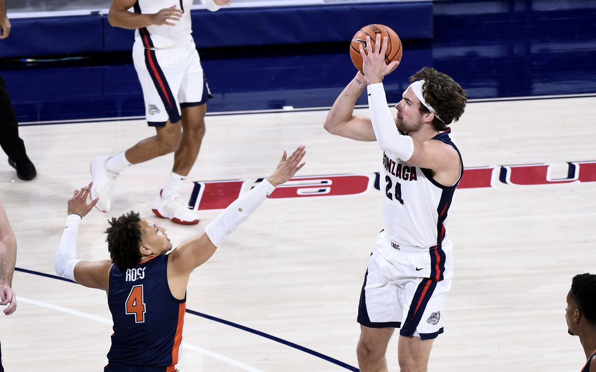 NCAA Basketball: Pepperdine di Gonzaga