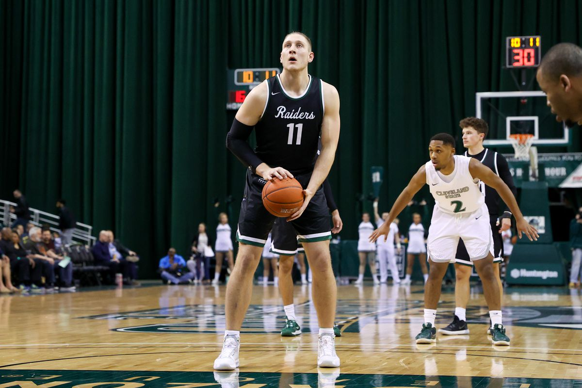 COLLEGE BASKETBALL: FEB 22 Wright State at Cleveland State