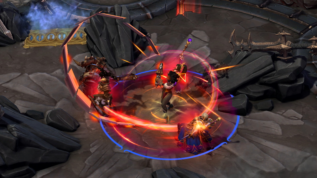 Heroes of the Storm - Qhira uses one of her ultimate abilities