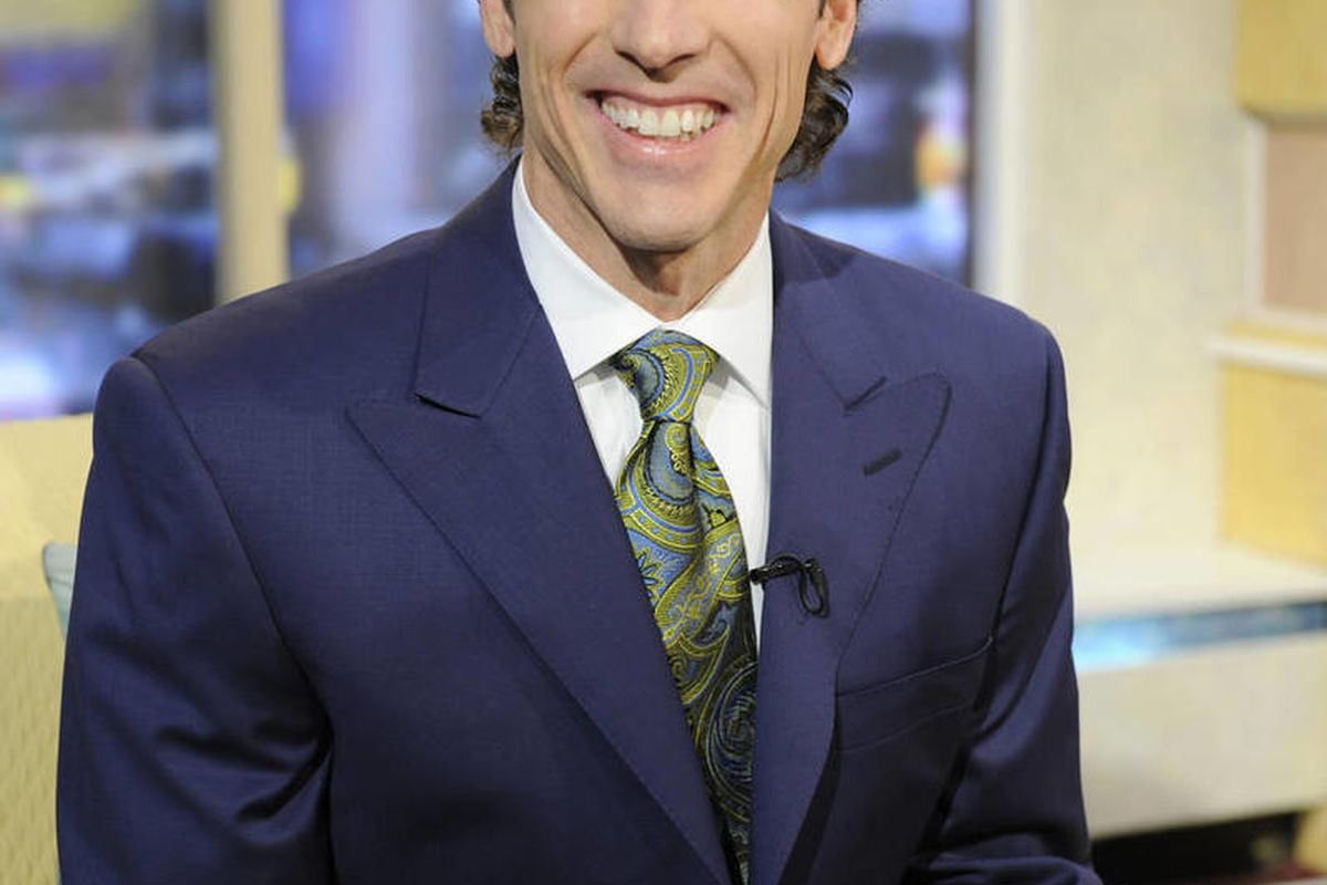 """In this publicity image released by ABC,  bestselling author and pastor of the nation's largest church, Joel Osteen, appears on the morning program, """"Good Morning America,"""" Tuesday, Nov. 3, 2009, in New York."""