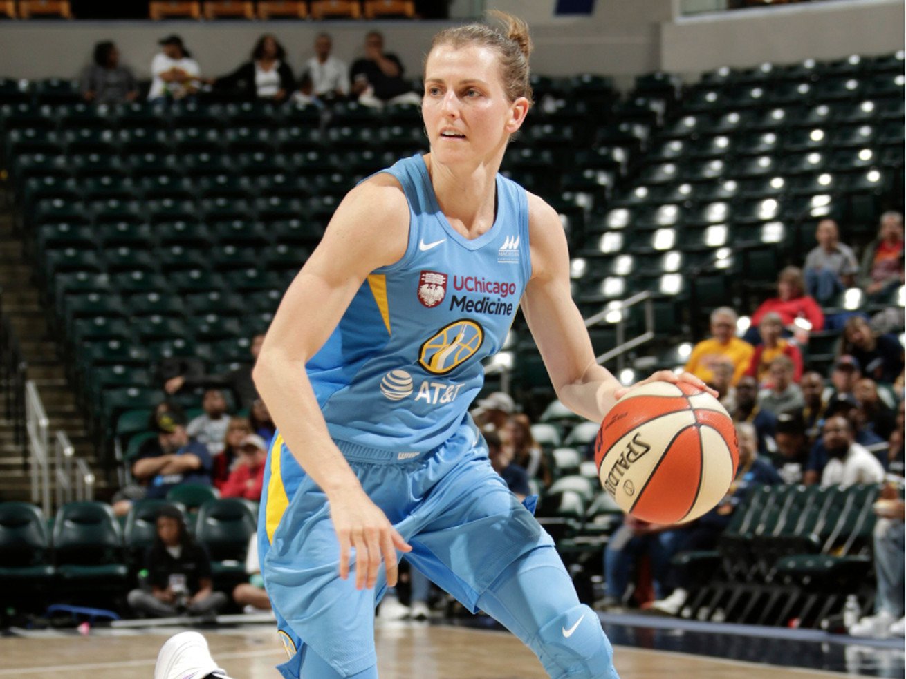 Allie Quigley lead the Sky on Saturday with 18 points.