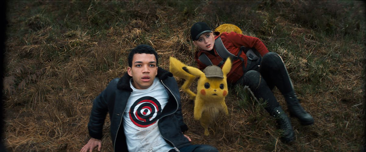 detective pikachu and justice smith