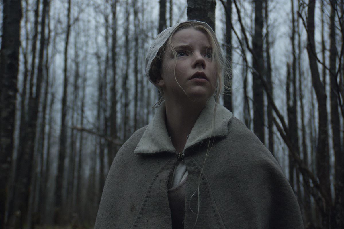 Thomasin (Taylor-Joy), alone in the woods.