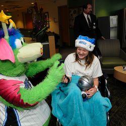 STUFF visits children at the Walt Disney Pavilion at Florida Hospital for Children