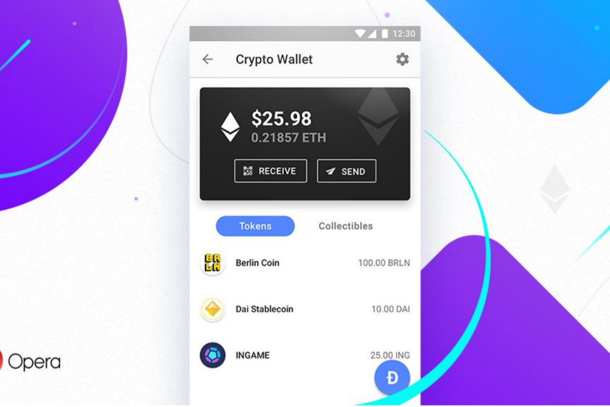 Opera launches a cryptocurrency wallet in its Android browser - The on opera os, opera turbo, internet explorer 9, opera mail, opera installer, opera mobile, opera software, opera user agent, opera icon, google chrome, opera internet, opera settings, internet explorer 10, mozilla firefox, opera logo, internet explorer 8, opera mini, internet explorer, opera add ons, opera app, netscape navigator, opera web, opera task manager,