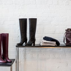 Classic boots and bags