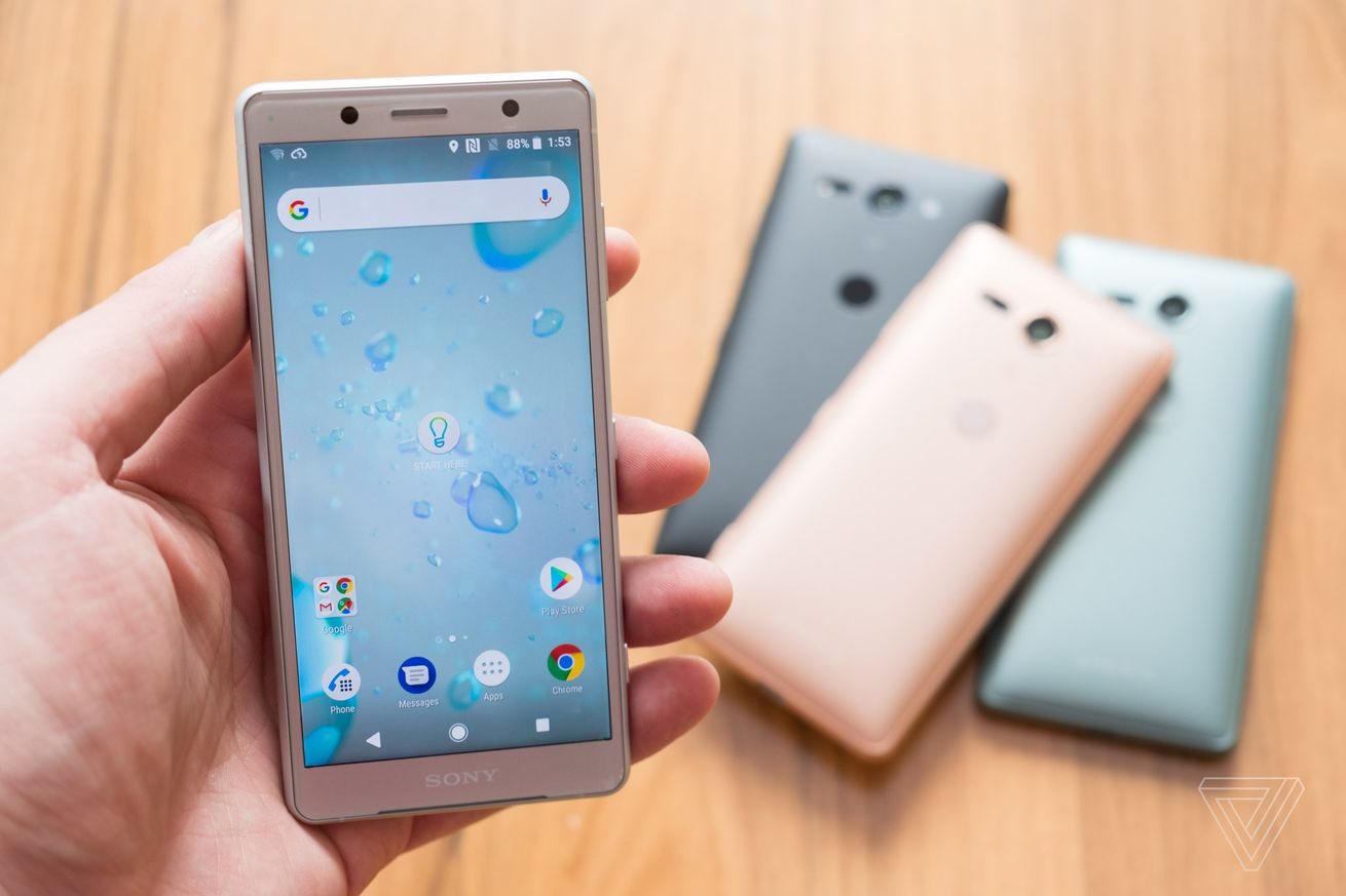 sony s xperia xz2 phones are coming to the us and start at 649 99