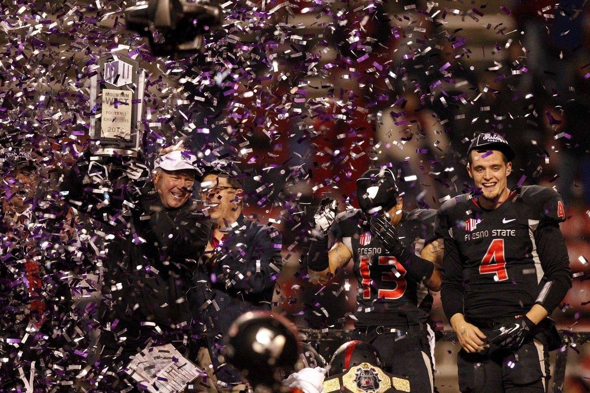 Fresno State hosted and won the 2013 MWC football championship at Bulldog Staduim, Frenso, CA.