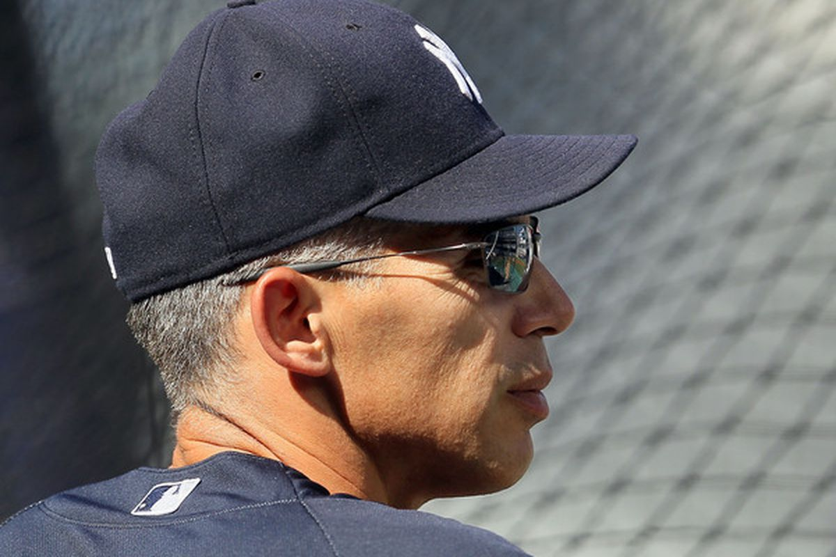 New York Yankee Manager <strong>Joe Girardi</strong>.  (Photo by Jim McIsaac/Getty Images)