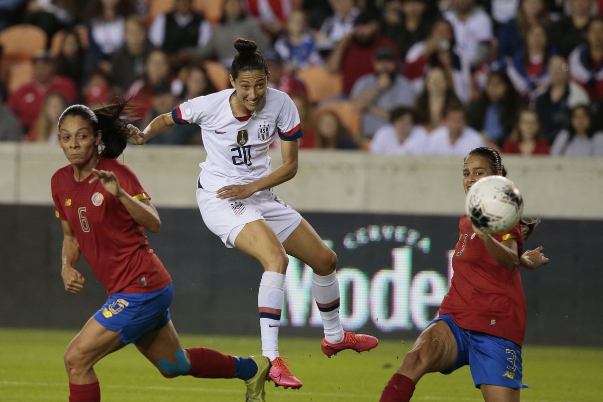 United States v Costa Rica: Group A - 2020 CONCACAF Women's Olympic Qualifying