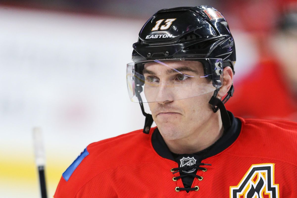 You'd have this facial expression if you were a Calgary Flame for the last two seasons too.