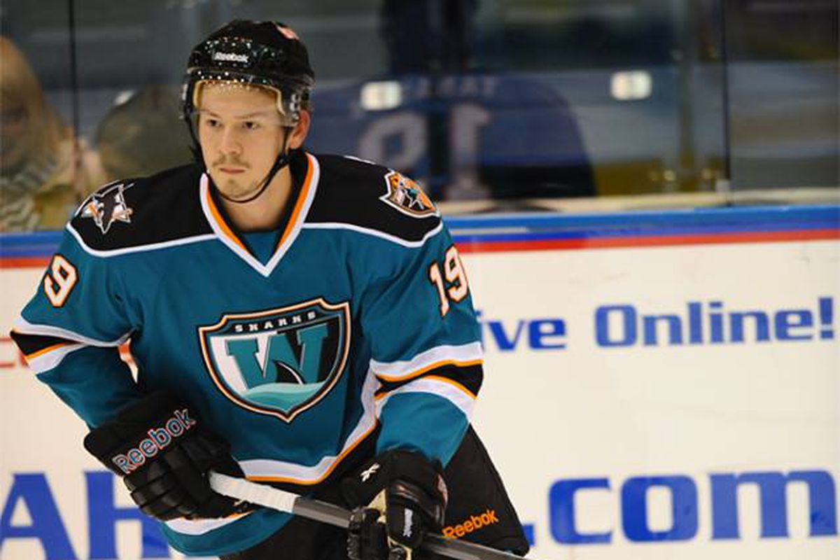 Second year Worcester Sharks forward Daniil Tarasov made up for taking two minor penalities in overtime by scoring what held up as the game-winning-goal in the shootout against the Manchester Monarchs Sunday afternoon