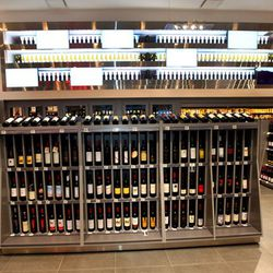 The store offers more than 700 bottles of wine