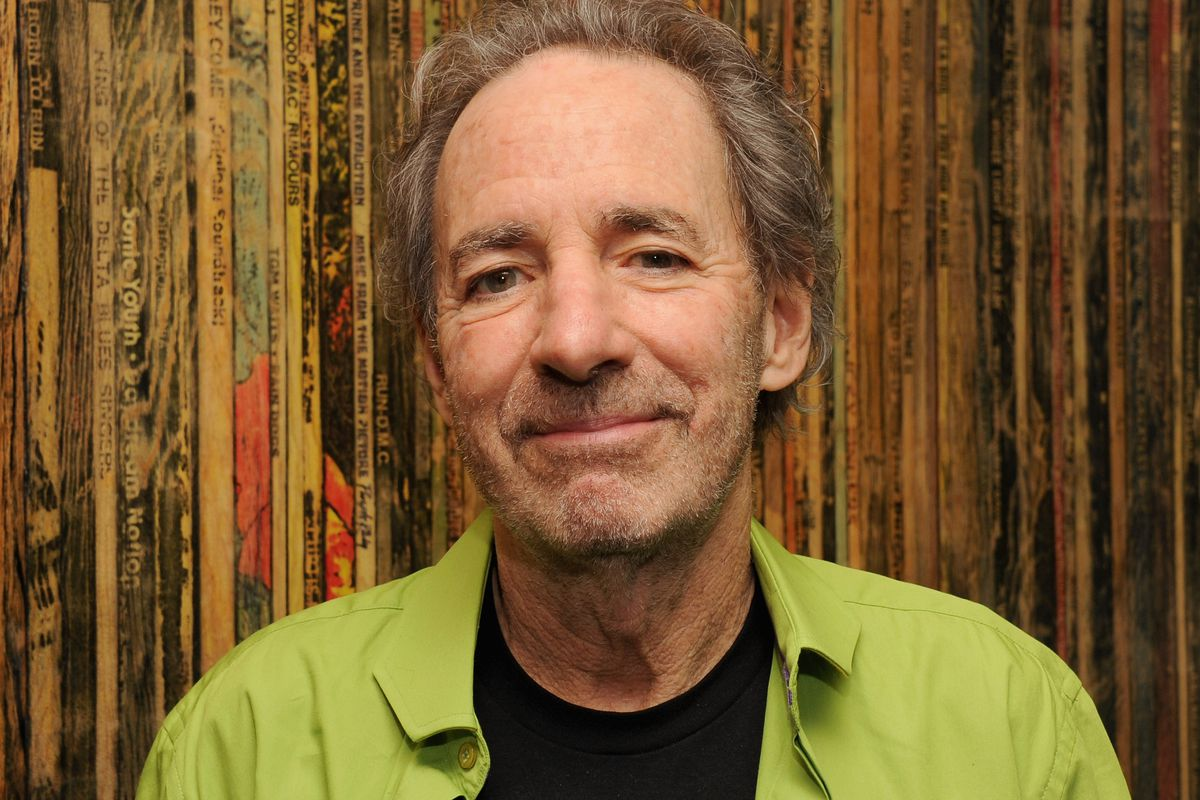 Harry Shearer poses before The Drop: Harry Shearer at The GRAMMY Museum on October 22, 2012, in Los Angeles, California.