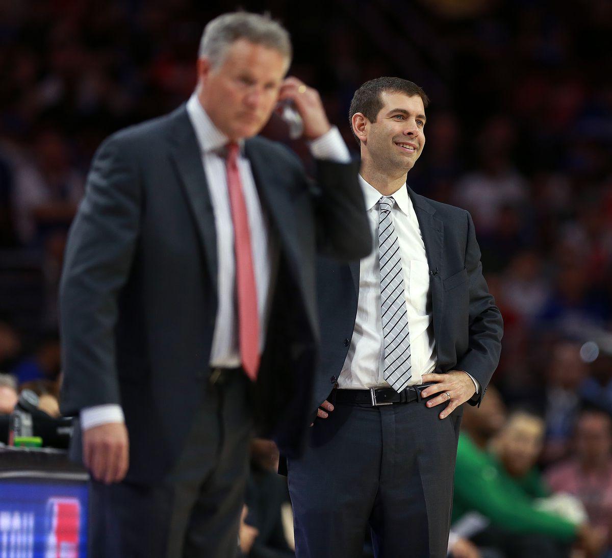 2018 NBA Playoffs: Boston Celtics vs Philadelphia 76ers At Wells Fargo Center