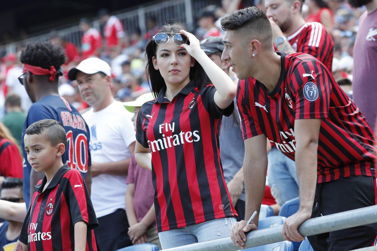SOCCER: JUL 28 International Champions Cup - AC Milan v Benfica
