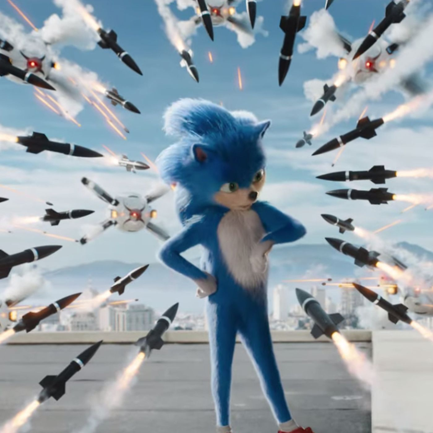 Twitter Is Fixing The Sonic The Hedgehog Movie Trailer Deseret News