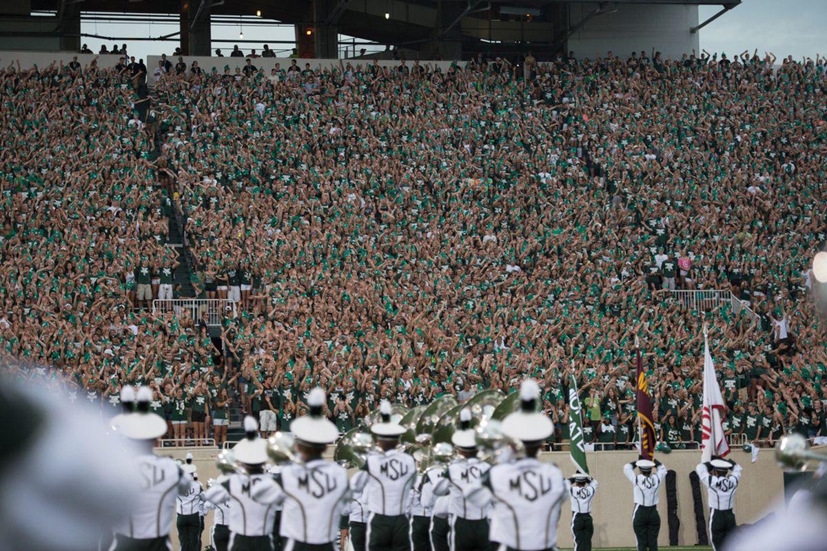Spartan Stadium will be ready Saturday night