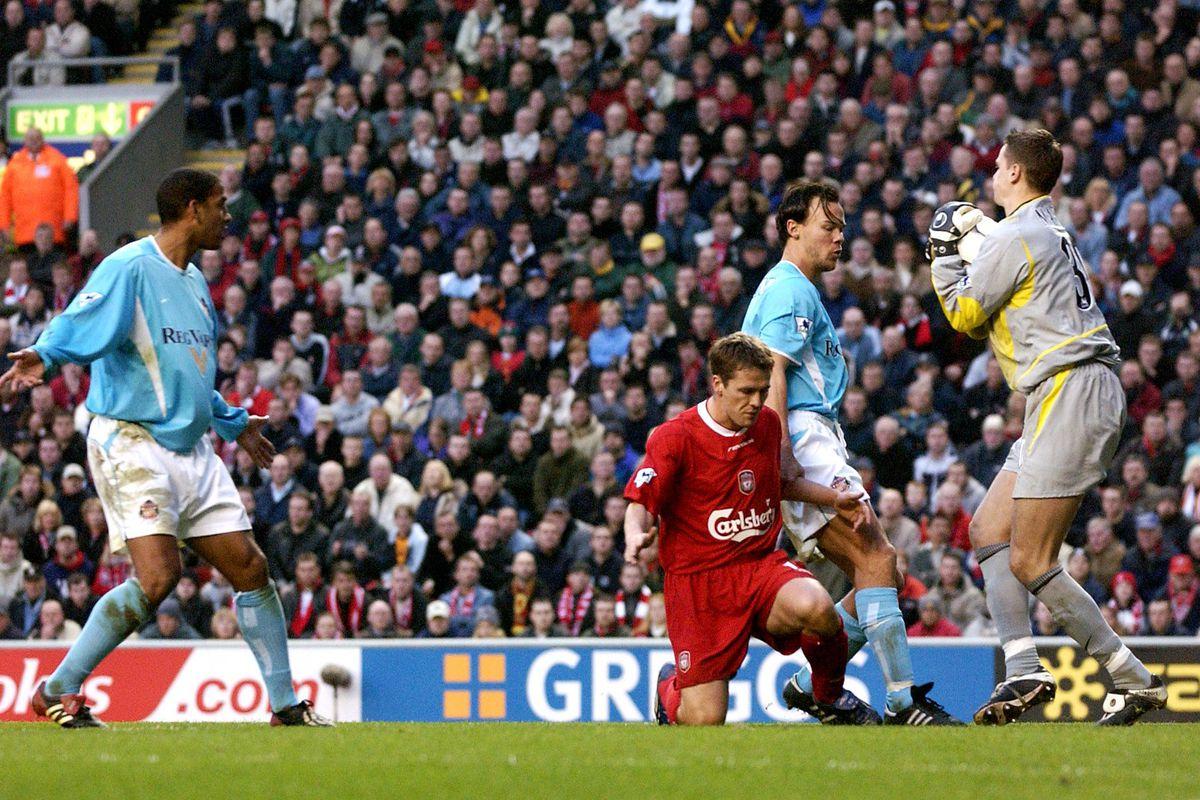 Soccer - FA Barclaycard Premiership - Liverpool v Sunderland